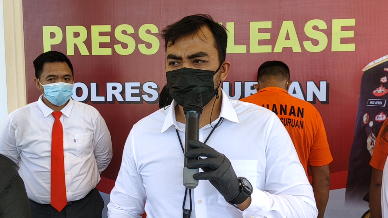 Kasat Reskrim Polres Pasuruan AKP Adhi Putranto